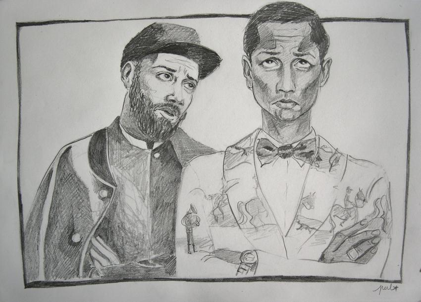 Woodkid, Pharrell Williams by Garance55